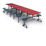Stool Cafeteria Table 120
