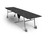 12'' Rectangular Folding Table - 36