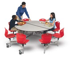 Direct Cafeteria Tables Mobile Tables for Schools Churches