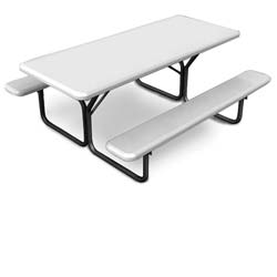 Iceberg Blow Molded Picnic Table